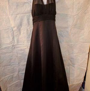 Davids Bridal Black Gown